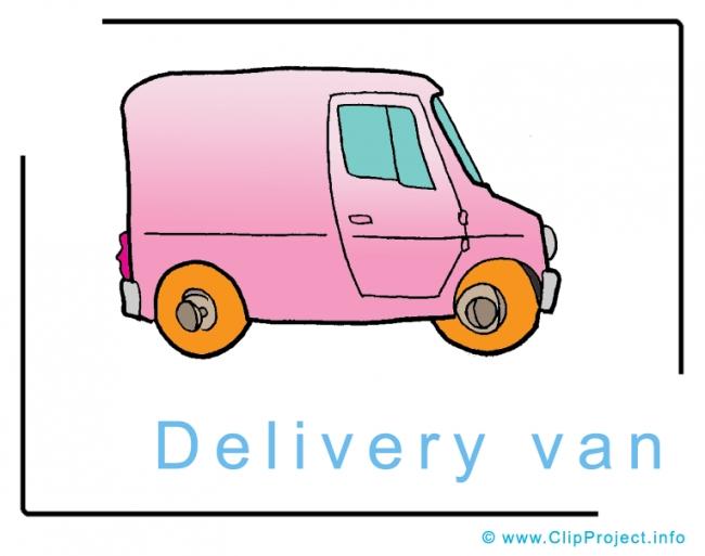Delivery Van Clip Art Free