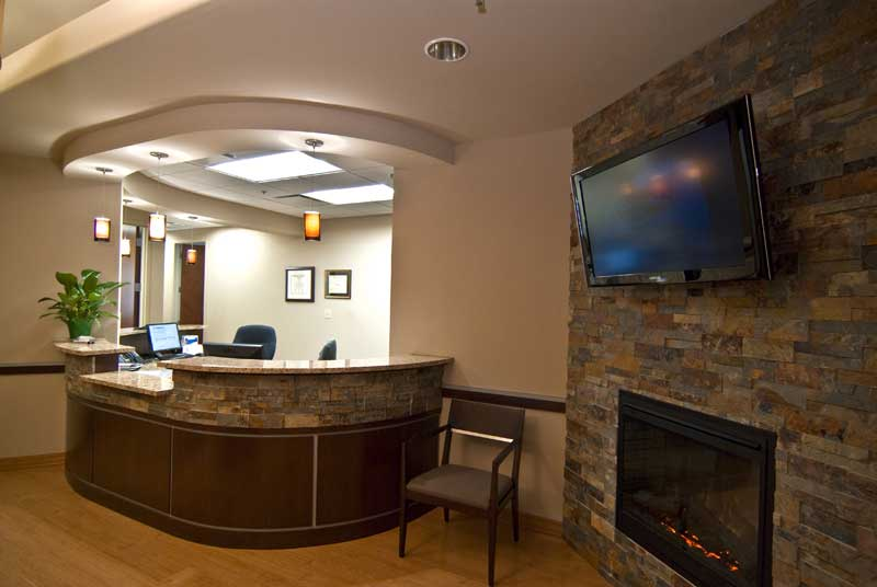 Dental Office Reception Area Design