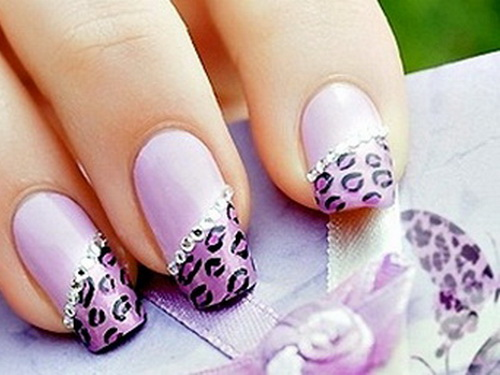 diy flower nail design do it yourself fashion - Nail Designs Do It Yourself At Home