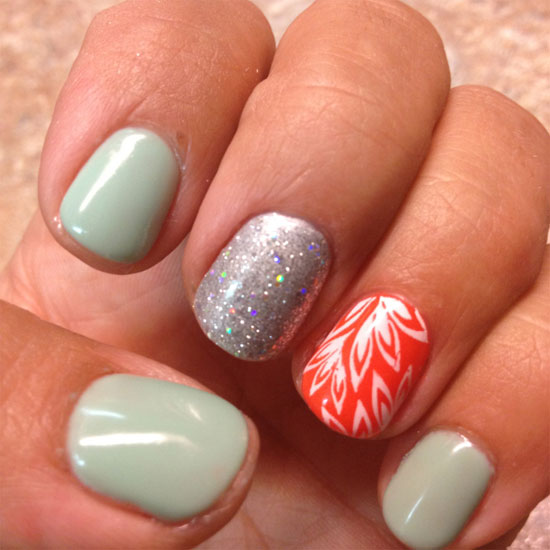 15 Simple Summer Nail Designs Images