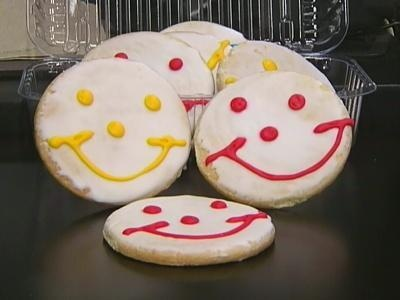 Eat N' Park Smiley Cookies