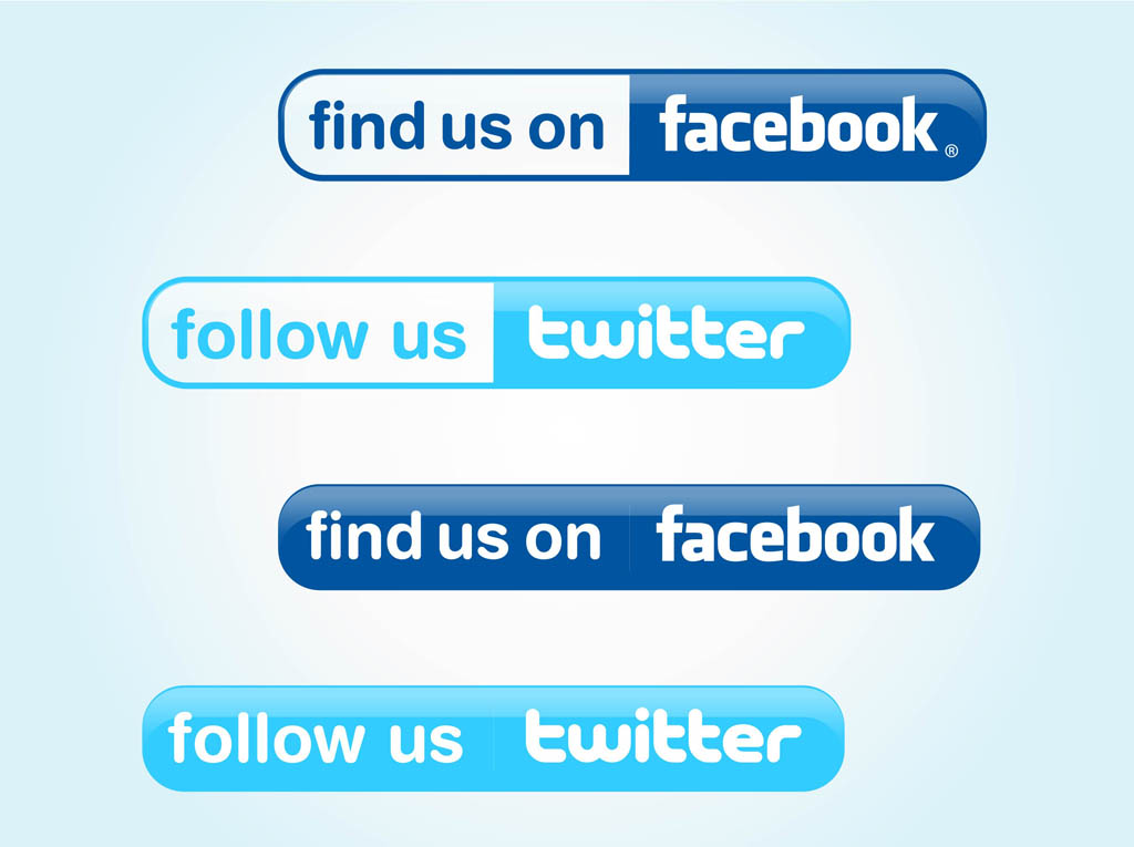 12 Follow Us On Twitter Logo Vector Images