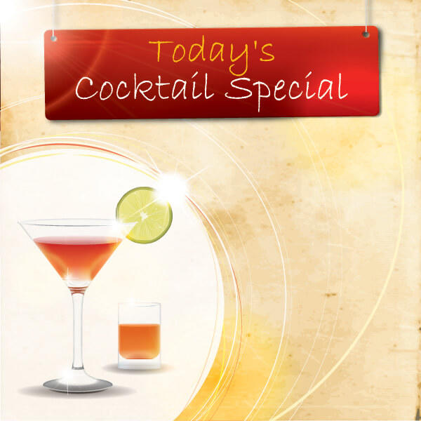 Free Cocktail Vector Graphics