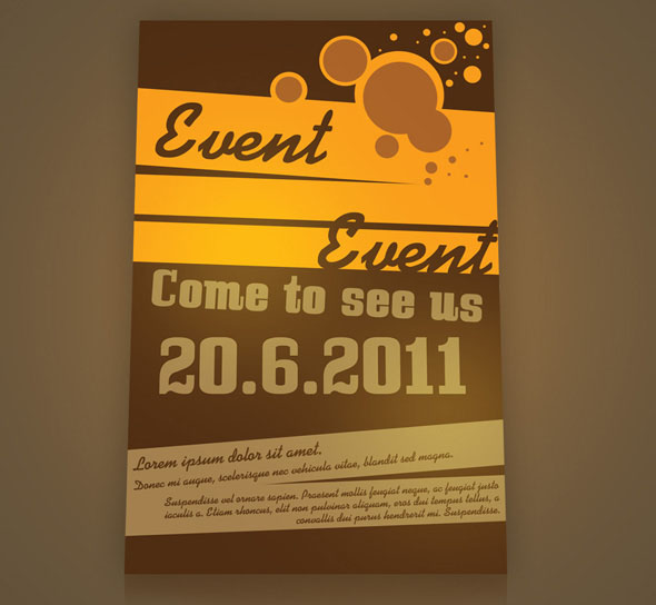 12 Event Flyer Design Templates Images