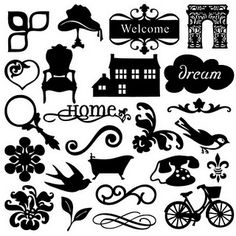 13 50 Free Silhouette Designs Images