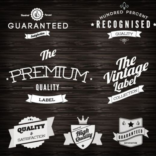 Free Vector Vintage Logos Graphic Design