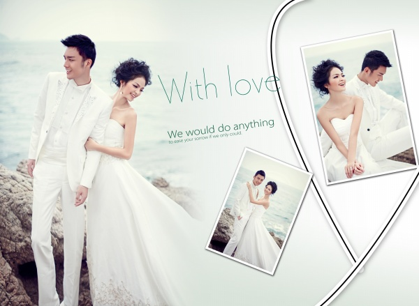 16 Pic Wedding PSD Design Images