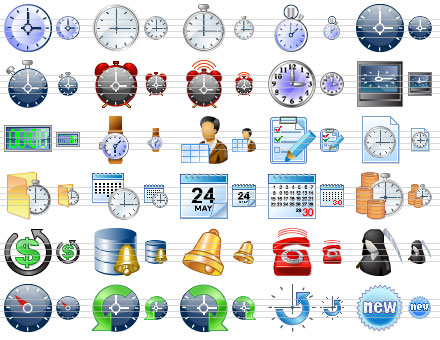 Free Windows 7 Toolbar Icons