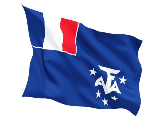 11 French Southern Territories Flag Icon Images