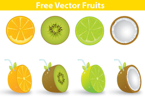 Fruit Vector Free Download