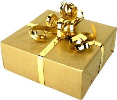 10 PSD Christmas Present Images