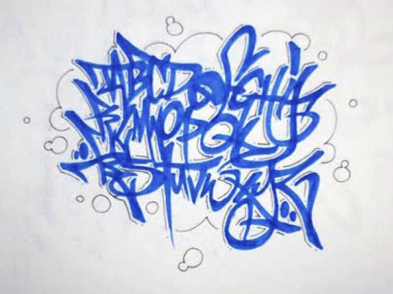 Image result for graffiti alphabet