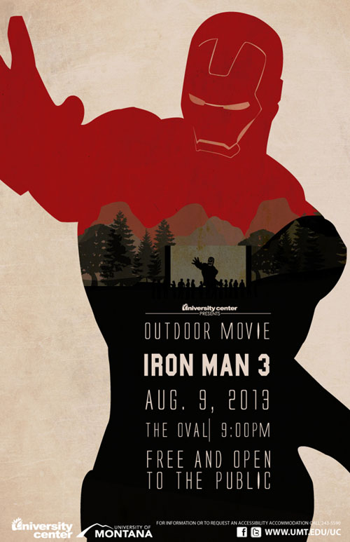 Graphic movie posters