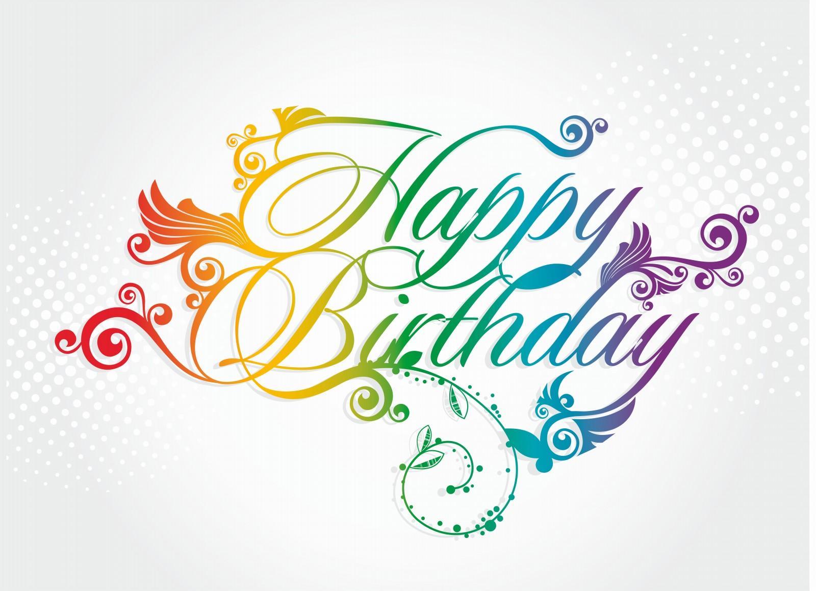 7 Happy Birthday Graphic Design Images