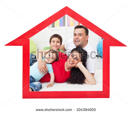 Happy Families Inside a Home