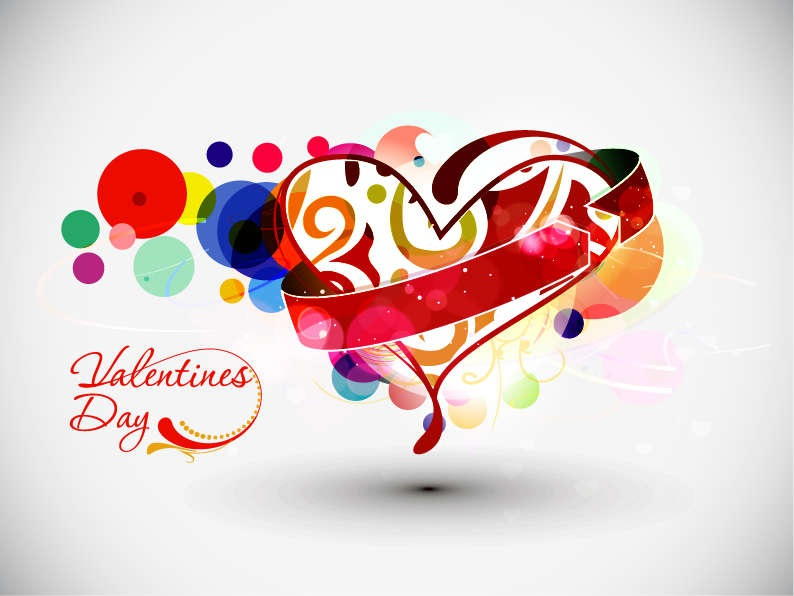 18 Valentine's Day Vector Graphics Images