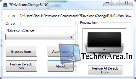 Hard Drive Icon Windows 7