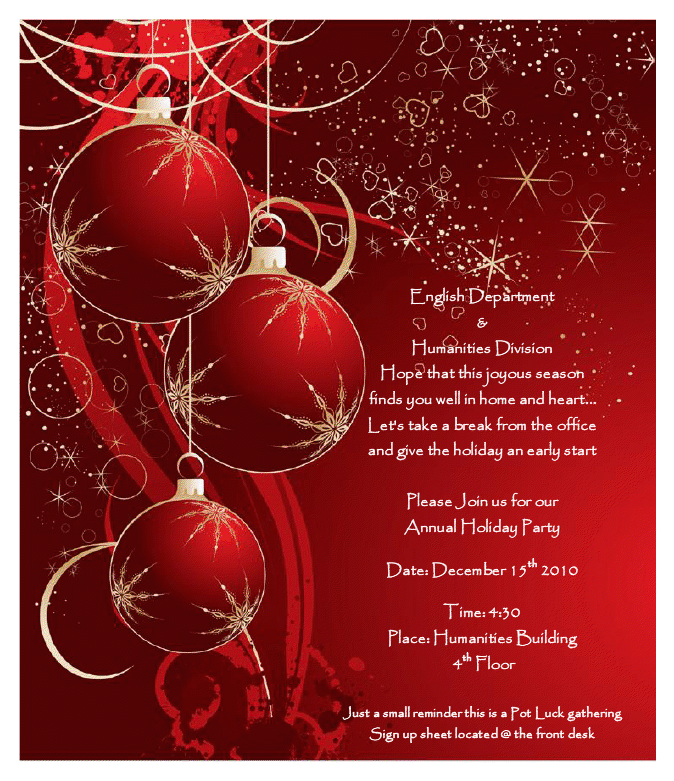 christmas brochure templates free - 16 printable christmas party flyer templates images free