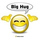 Hug Smiley-Face Emoticon
