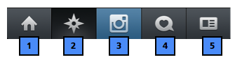 Instagram Home Icon Symbols