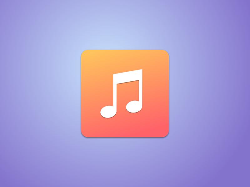 iOS 7 Music Icon