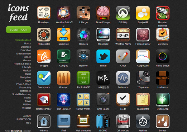 7 Application Icon Design Images