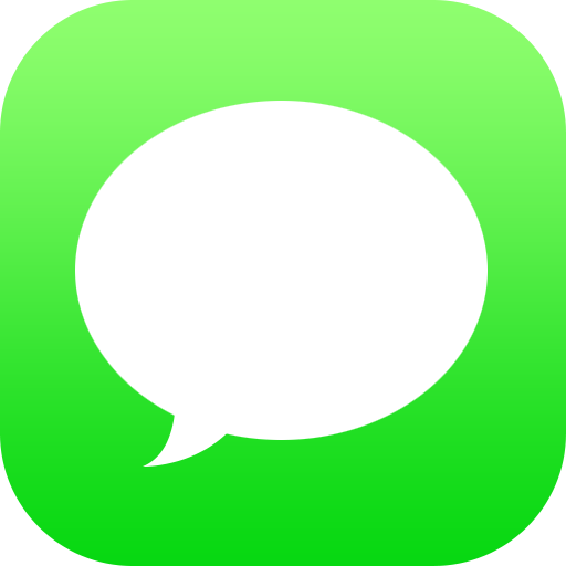 iPhone Text Message App Icon