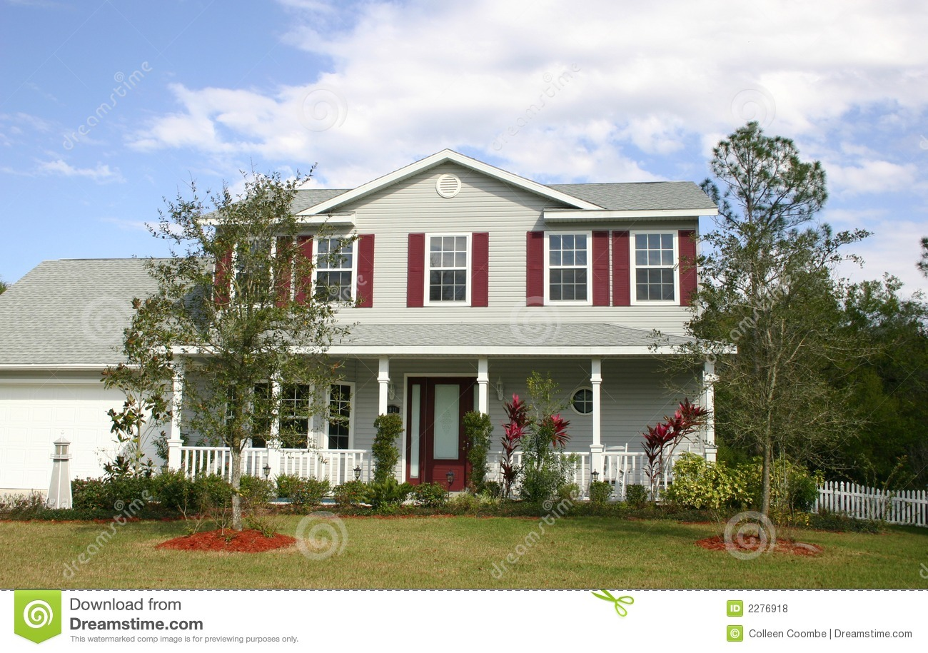 Large Family Homes with Front Porch