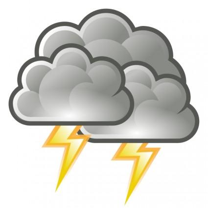 Lightning Storm Clip Art