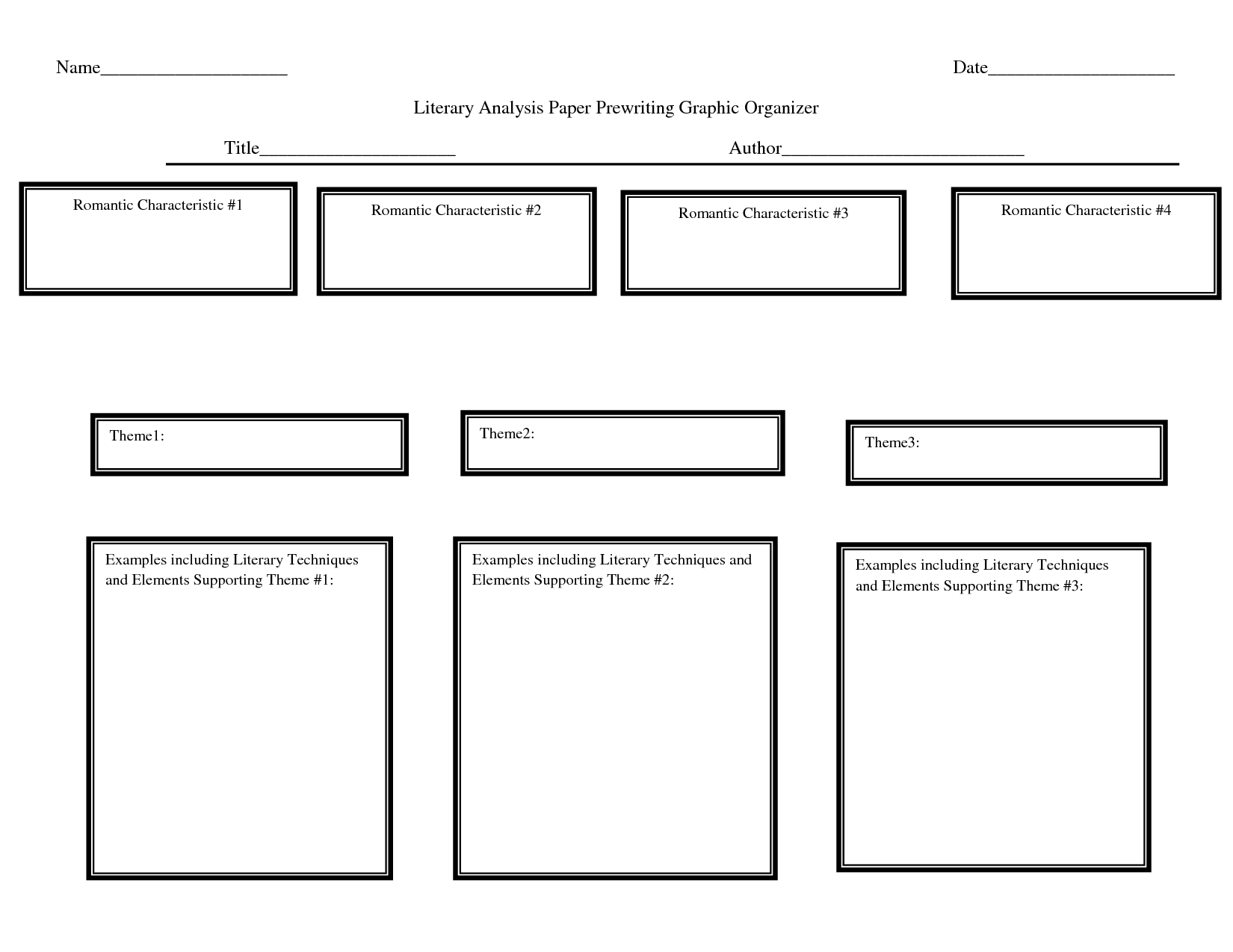 personification essay graphic organizer A graphic organizer with 3 columns, labeled 'simile', 'metaphor', and 'personification' students sort their examples of figurative language into the.