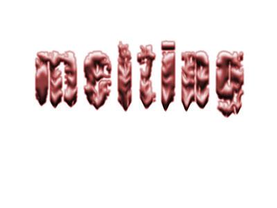 13 Font That Looks Like Melting Images - Chocolate Melting ... |Melting Word Dab