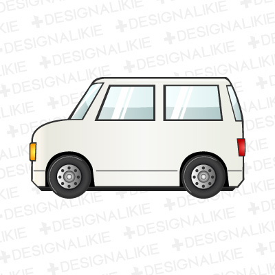 Mini Van Car Clip Art