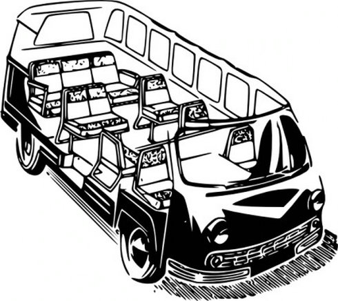 Minivan Clip Art Free