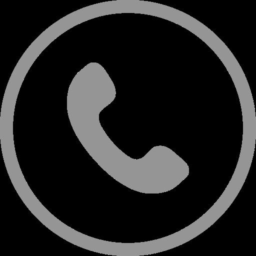 Mobile Phone Icon Circle