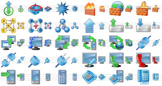 6 Windows Network Icon Tree Images