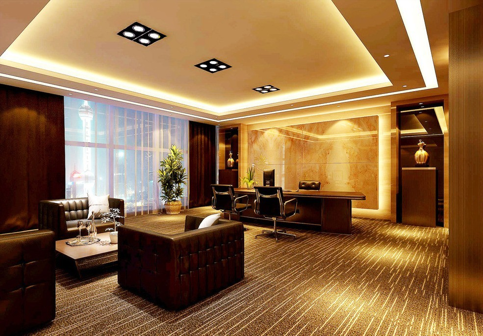Office Reception Area Interior Design
