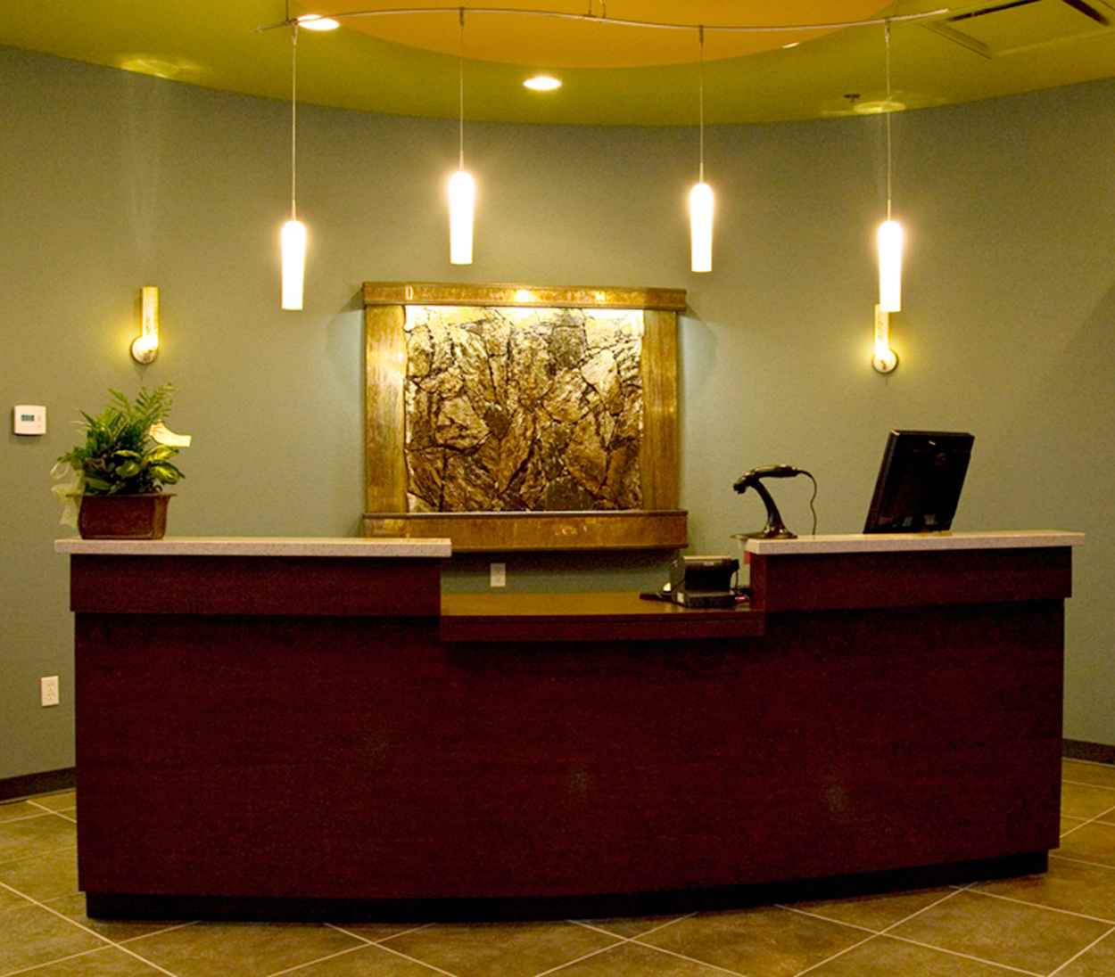 Office Reception Decorating Ideas