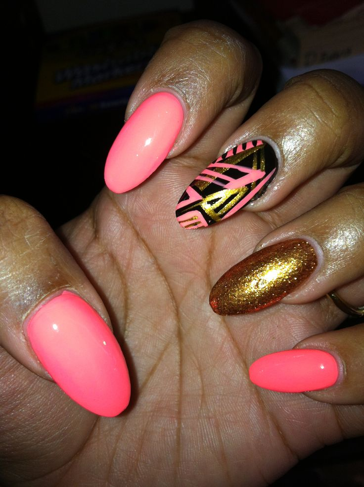11 Oval Nail Designs Ideas Images