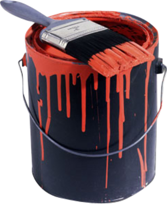 16 PSD Paint Cans Images