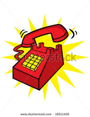 Phone Ringing Telephone Clip Art