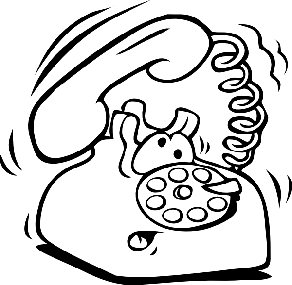 Phone Ringing Telephone Clip Art