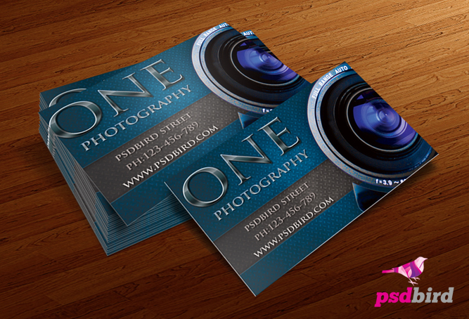 12 Photography Business Card PSD Images