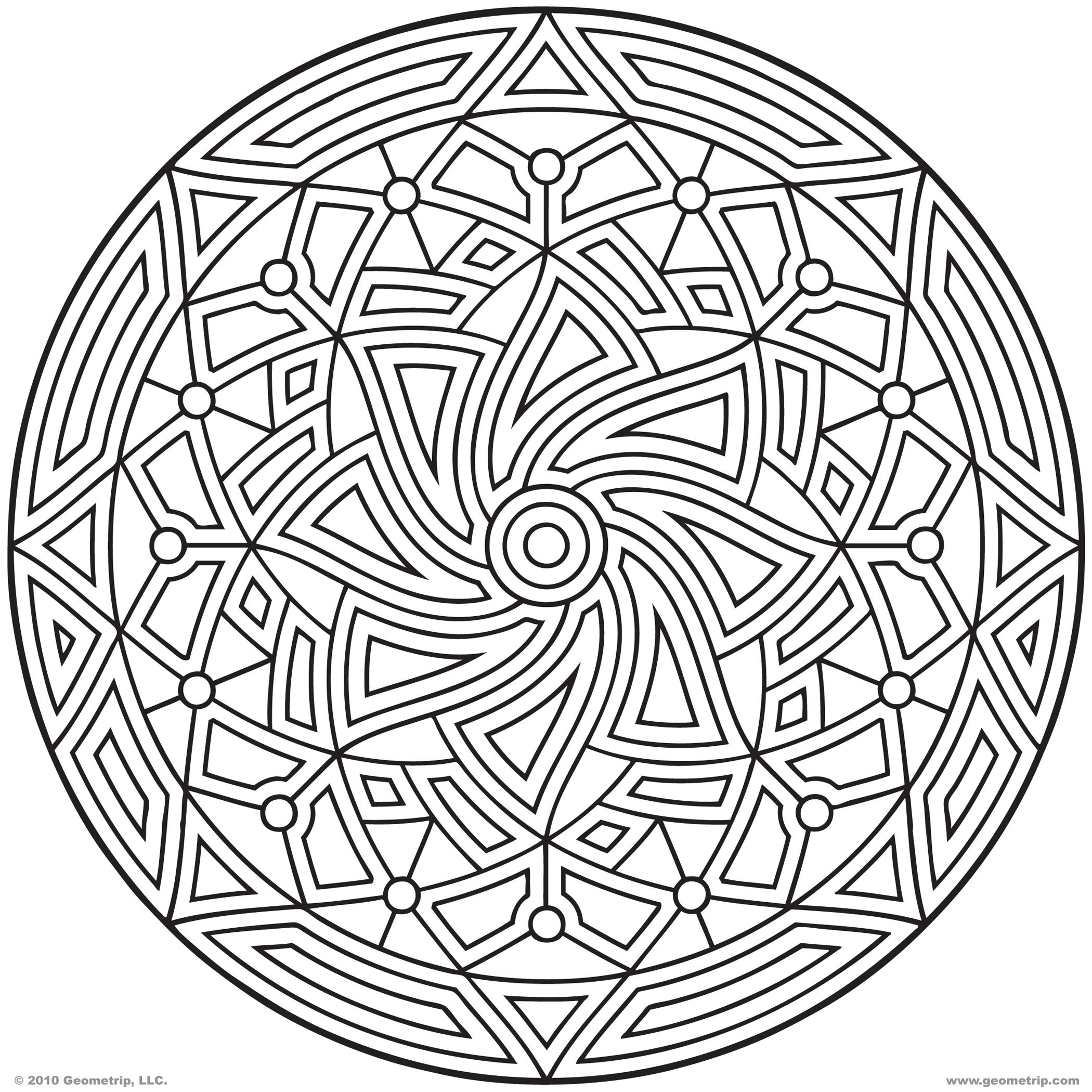 9 printable animal coloring pages geometric design pattern images