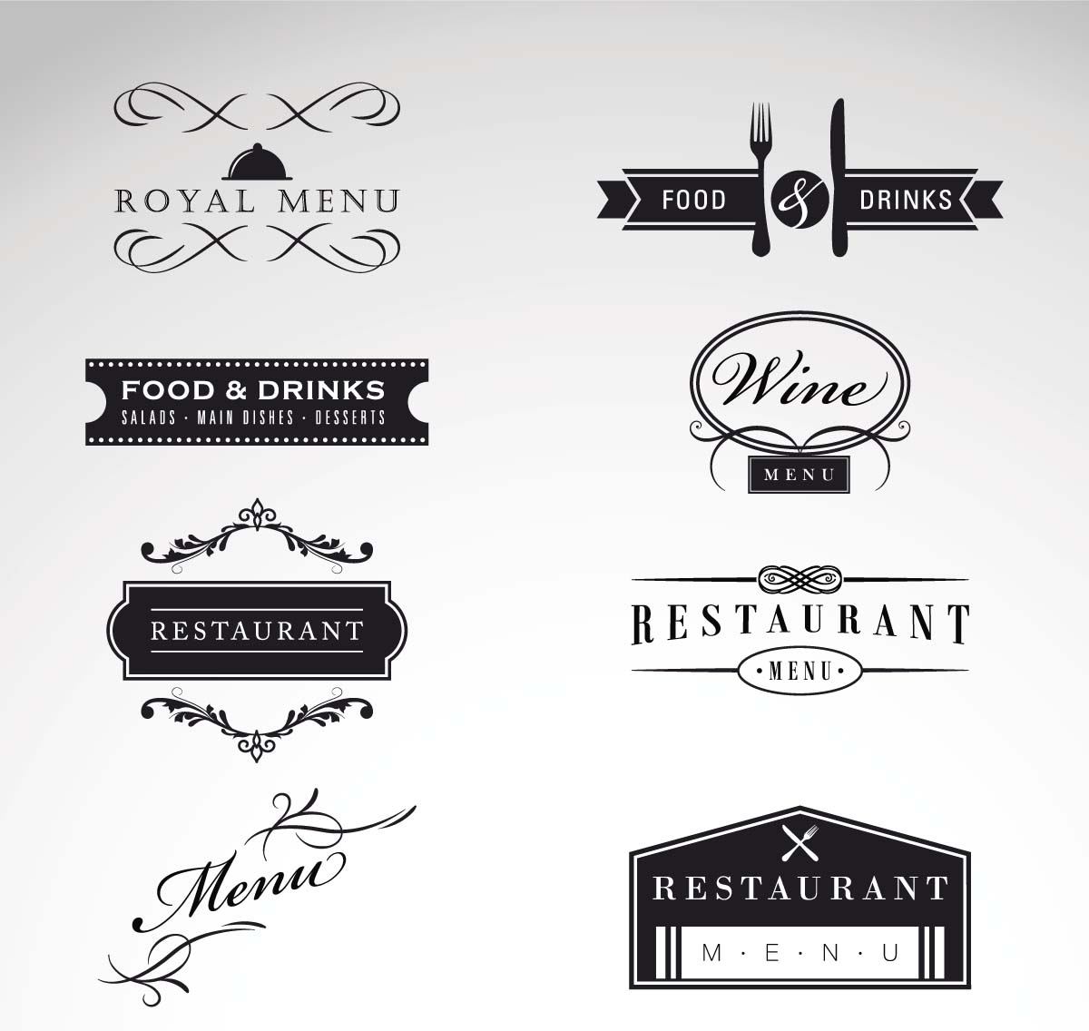 Restaurant Logo Vector Free Download