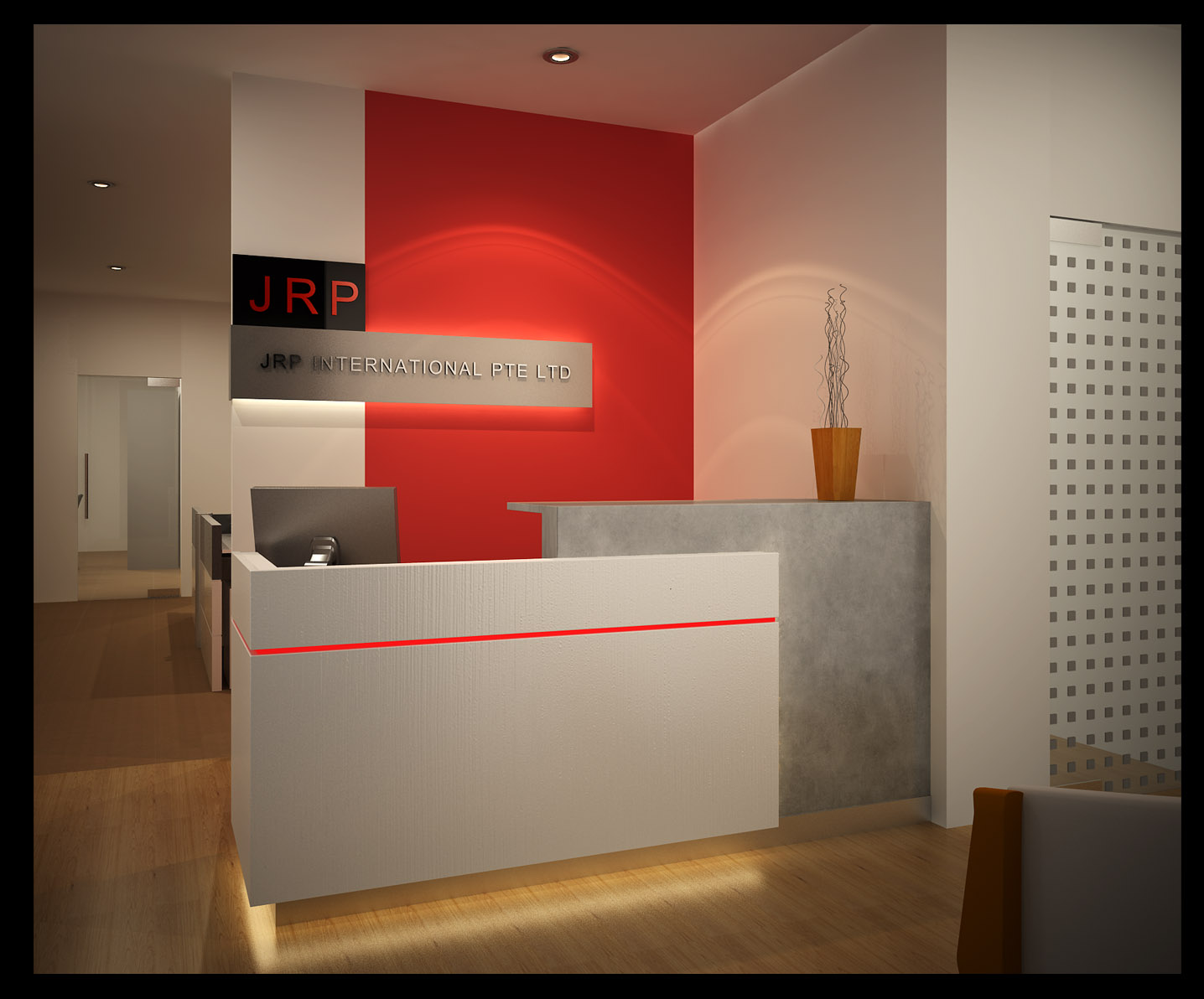 Small Office Reception Design Ideas