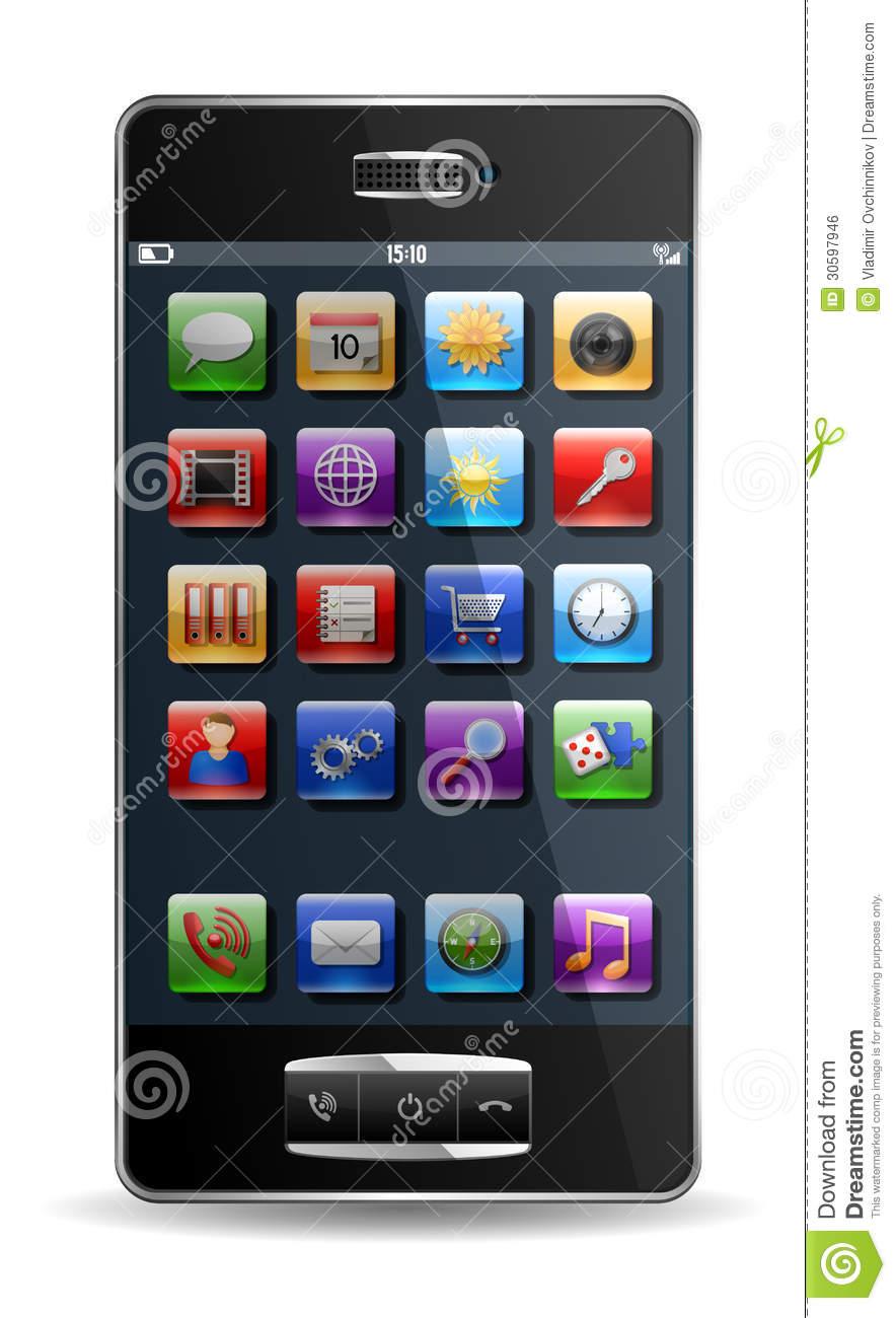 Smartphone Phone App Icon