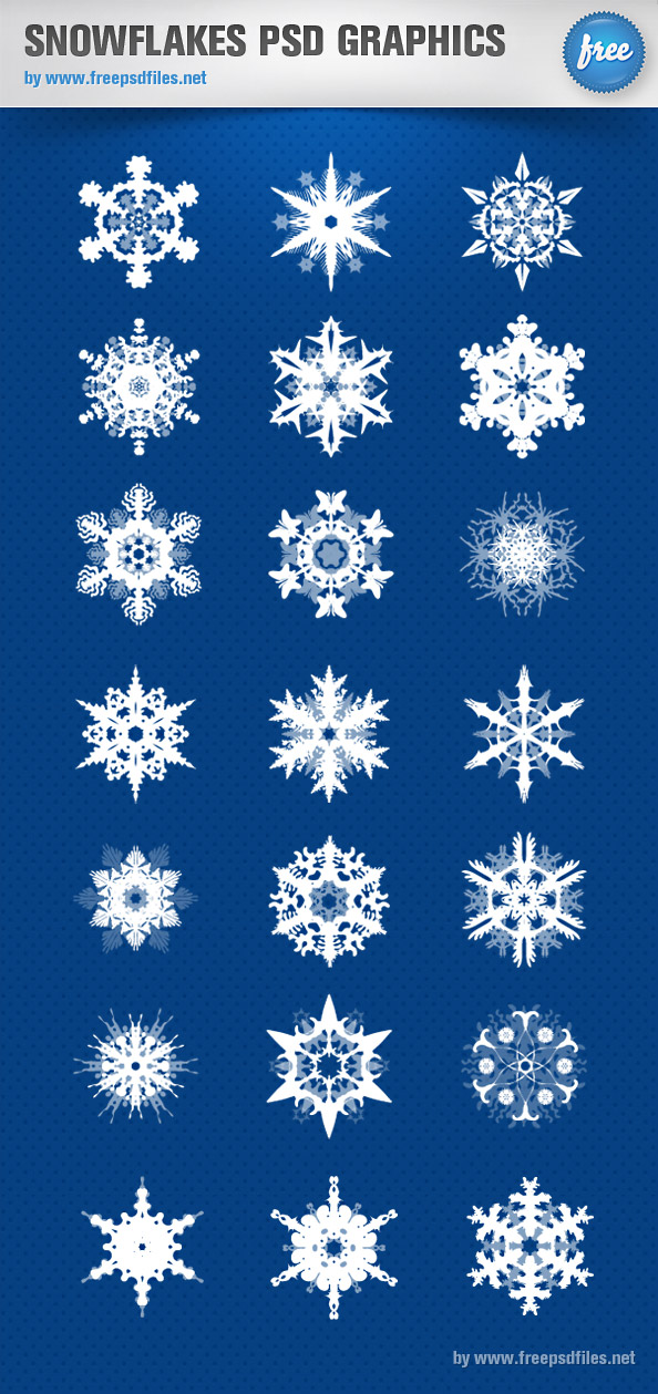 12 Snow PSD Files Images