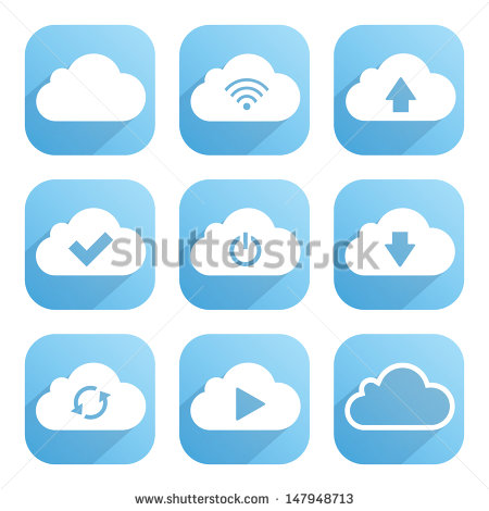 Software's with Clouds as Icons