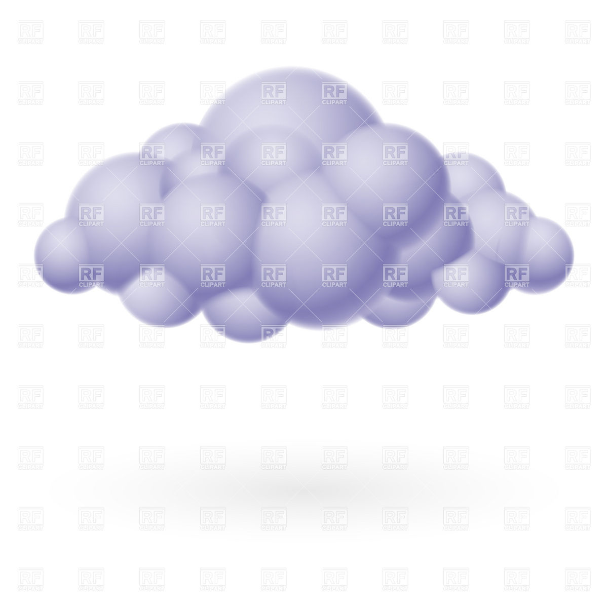 14 Storm Cloud Vector Images