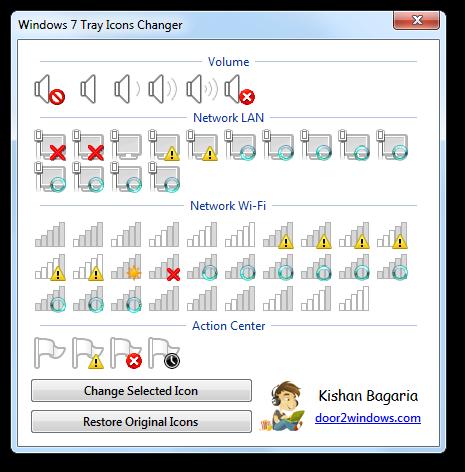 System Tray Icons Windows 7